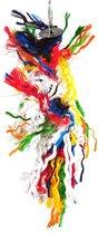 Happy Pet Vogel speelgoed - Preener Katoen - 40x10x10 cm