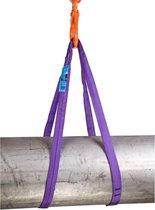 Rema rondstrop paars - S5-PE 1000kg - 2 meter