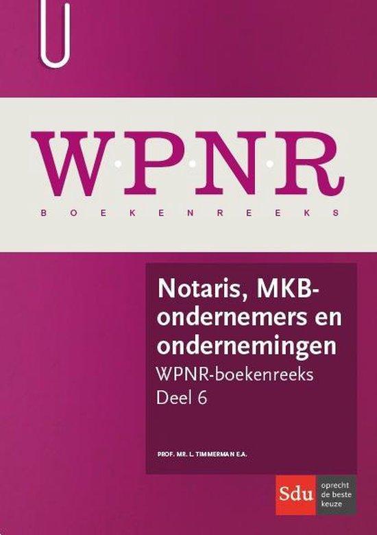 Notaris, MKB-ondernemers en ondernemingen - L Timmerman  