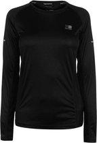 Karrimor Sportshirt Runningshirt Dames - Zwart - Maat M (12)