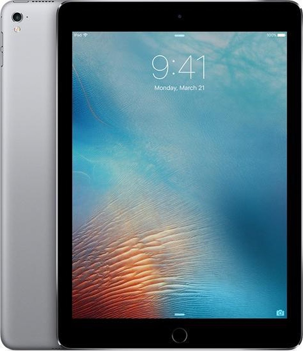 Apple iPad Pro - 9.7 inch - WiFi - 32GB - Spacegrijs