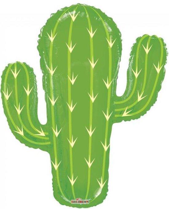 Folie ballon xl cactus 71 cm groot