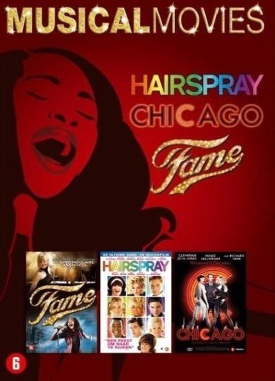 Cover van de film 'Musical Box - Fame/Hairspray/Chicago'