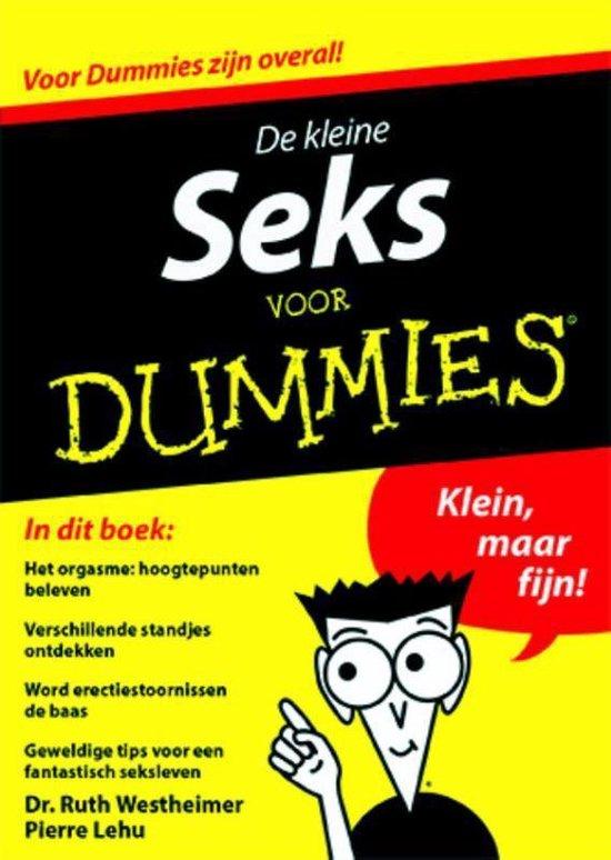 Boek cover Voor Dummies  -   De kleine seks voor dummies van Ruth Westheimer (Paperback)