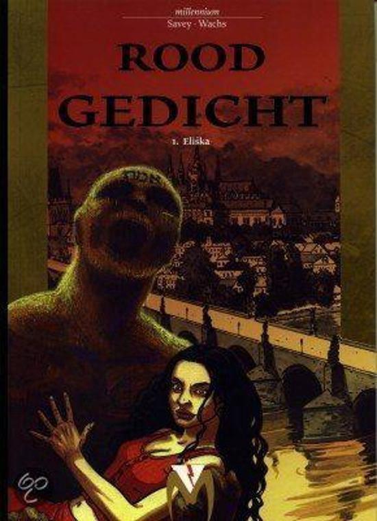 Rood gedicht deel 1 Eliska (Hardcover stripboek) - Wachs |