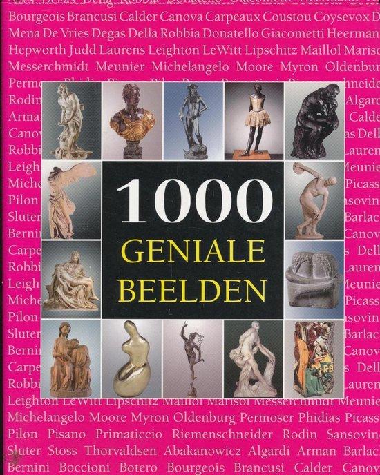 1000 GENIALE BEELDEN - N.B. |
