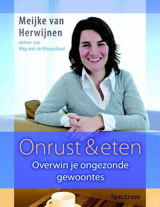 Cover van het boek 'Onrust & eten' van M. van Herwijnen