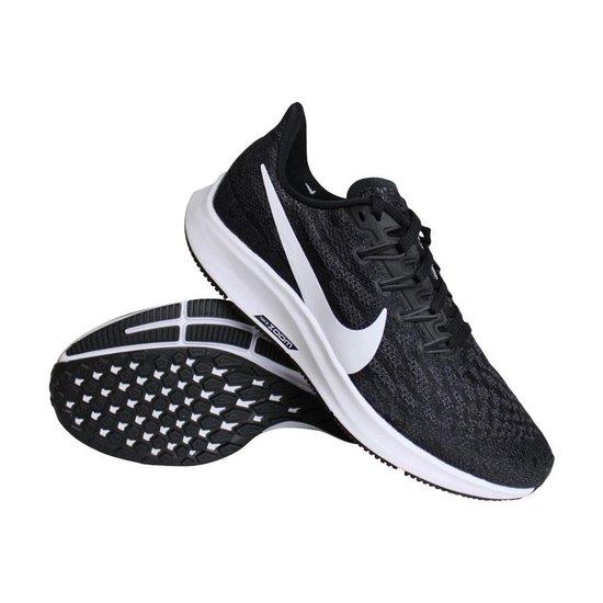 Nike Air Zoom Pegasus 36 dames hardloopschoenen zwart