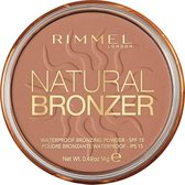 Rimmel London Natural Bronzing Bronzingpoeder - 022 Sun Bronze