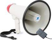 Vonyx MEG040 - Megafoon 40W met opnamefunctie, sirene en externe microfoon