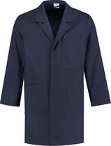 EM Workwear Stofjas 100% katoen - Navy - maat L / 52-54