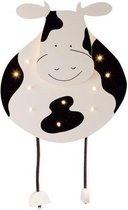 ABC-Kinderlampen - Wandlamp - Koe met 10 mini lampjes