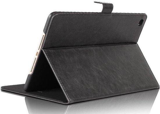 Apple iPad Pro 12.9 (2017 / 2015) Hoes Leer Book Case Smart Cover Zwart - Hoesje van iCall
