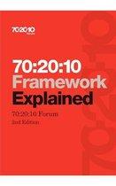 Boek cover 70:20:10 Framework Explained van 70:20:10 Forum