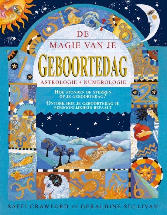 Boek cover De magie van je geboortedag van Saffi Crawford (Paperback)