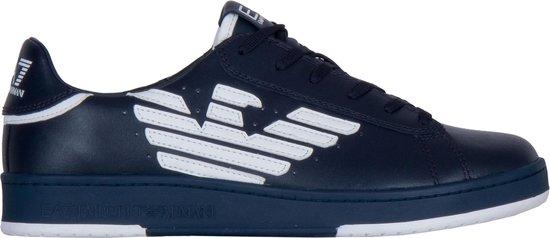 EA7 Sneakers - Maat 44 2/3 - Mannen - donker blauw/ wit