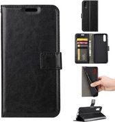 Huawei P20 Lite Portemonnee hoesje Book case Zwart