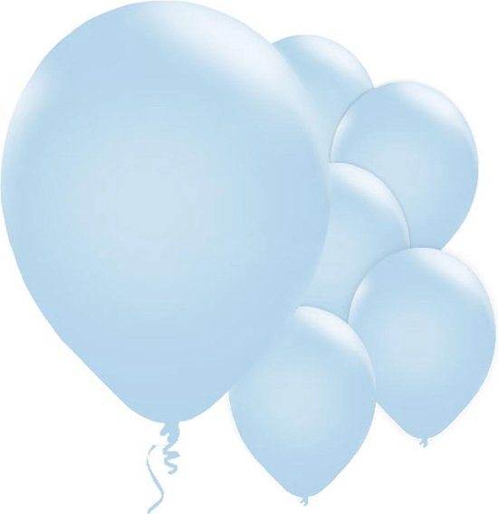 Ballonnen - Parel Blauw - 10 stuks