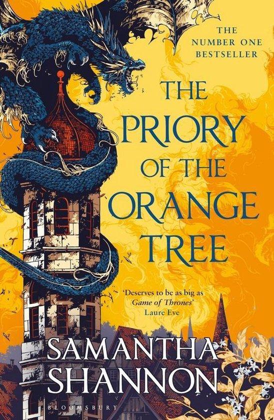 Boek cover The Priory of the Orange Tree : The Number One Bestseller van Samantha Shannon (Paperback)