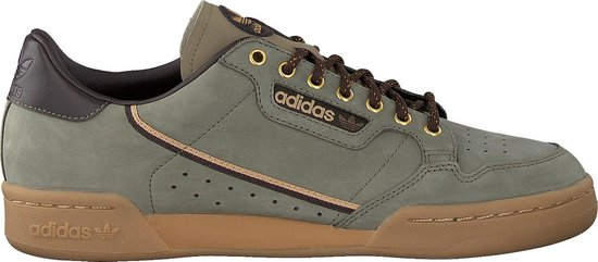 bol.com | Adidas Heren Sneakers Continental 80 Men - Groen ...