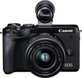 Canon EOS M6 Mark II + EF-M15-45mm + EVF-DC2 SLR camerakit