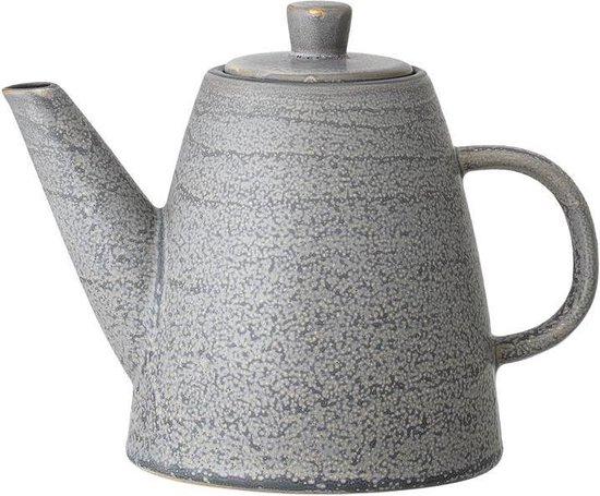Bloomingville - Kendra Theepot Stoneware 20,5xH15 cm Grijs