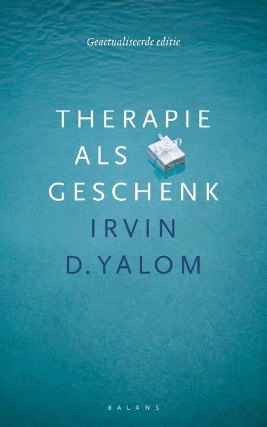 Boek cover Therapie als geschenk van Irvin D. Yalom (Paperback)