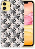 iPhone 11 TPU Hoesje Salamander Grey