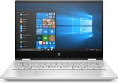 "HP Pavilion x360 14-dh0807nd Hybride (2-in-1) 35,6 cm (14"") 1920 x 1080 Pixels Touchscreen Intel® 8de generatie Core™ i5 8 GB DDR4-SDRAM 512 GB SSD Wi-Fi 5 (802.11ac) Windows 10 Home Zilver"