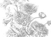 KEK Amsterdam - KEK Amsterdam Engraved Flowers IV - 8-baans