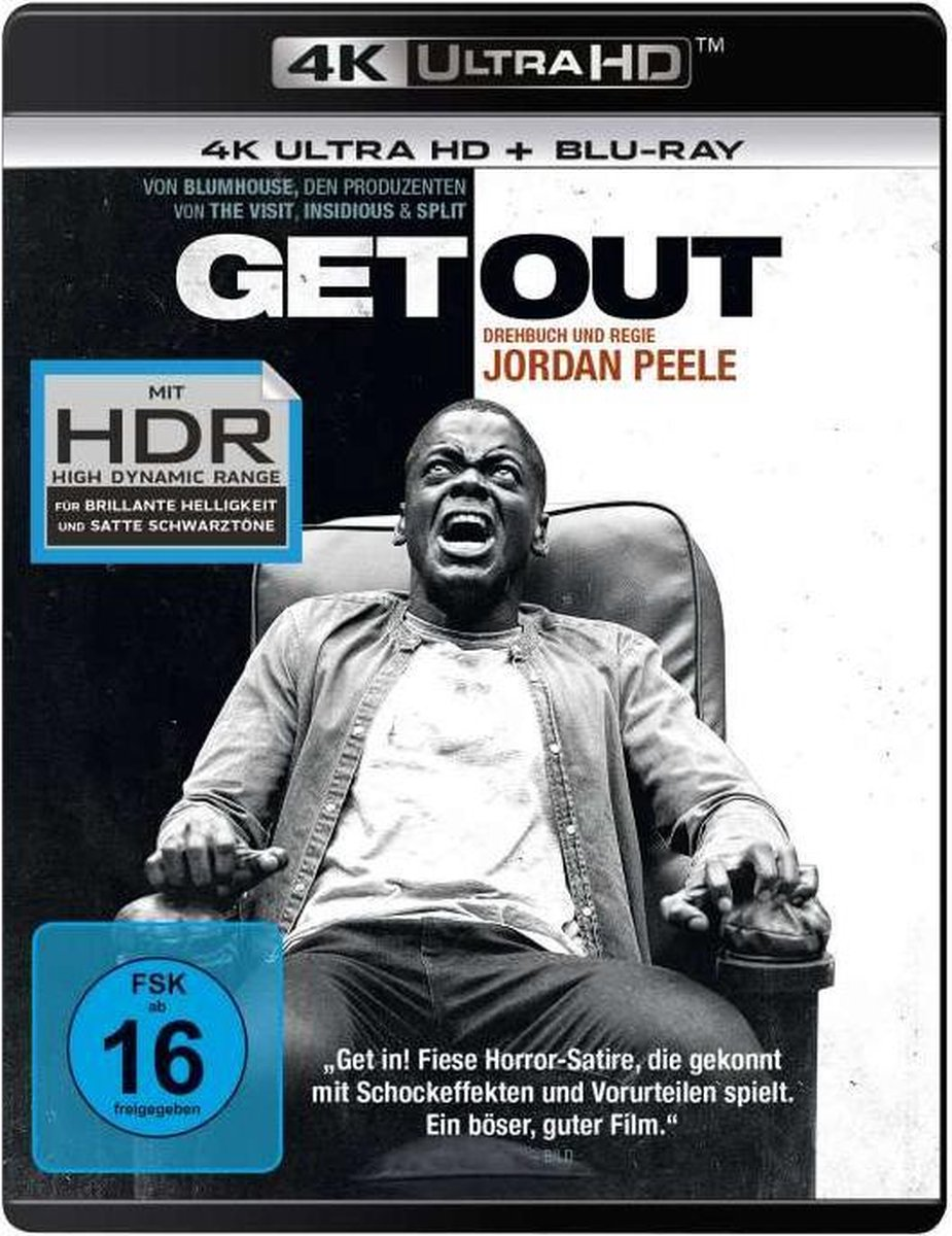 Get Out (Ultra HD Blu-ray & Blu-ray)-