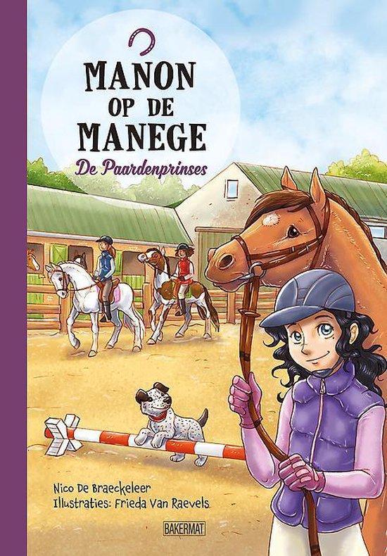 Manon op de manege 0 - De paardenprinses - Nico de Braeckeleer |