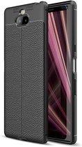 Sony Xperia 10 Soft TPU Case - Zwart