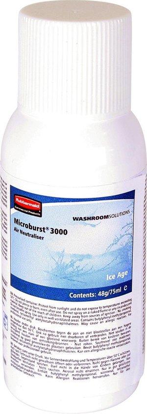 Tc global Microburst 3000 Artic 75ml - Hervulling luchtverfrisser