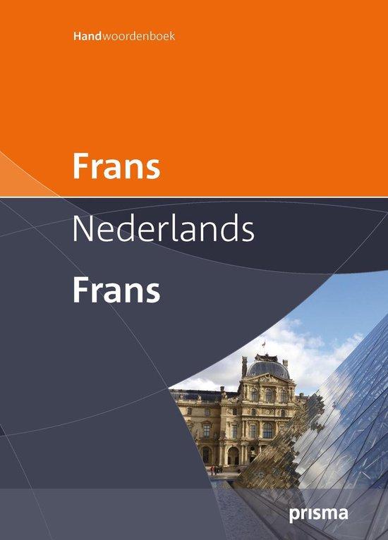 Cover van het boek 'Prisma Handwoordenboek Frans-Nederlands Nederlands-Frans'