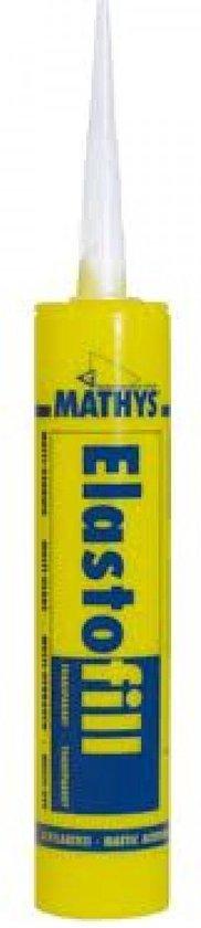 Mathys Elastofill Acrylaatkit - Wit - 310 ml