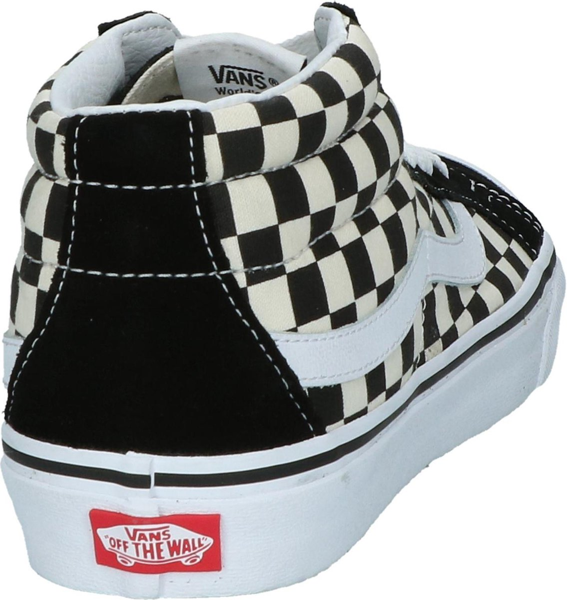 | Vans Dames Sneakers Sk8 Mid Reissue Checkerboard
