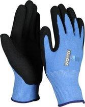 OX-ON Junior 10000 kinder werkhandschoenen blauw - 6 - 8 jaar