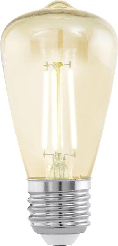 EGLO LED lichtbron - E27- H 10,5 cm - Amberkleurig
