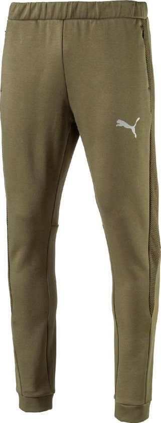 PUMA Sportbroek Evostripe Ultimate Pants 592623 14 - Heren - Olive Night -  Maat XS