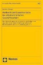 Methodik der Klauselkontrolle im unternehmerischen Geschäftsverkehr
