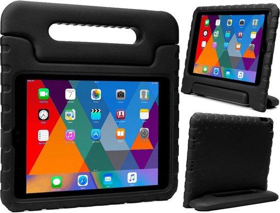 iPad 5/6 / iPad Pro 9.7 / iPad Air 1/2 Kinderhoes Kids Hoesje - Zwart