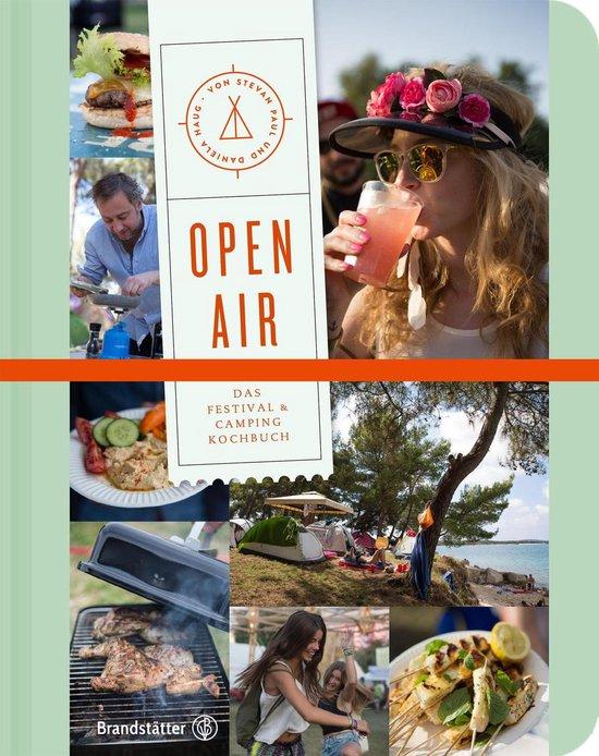 Boek cover Open air van Stevan Paul (Onbekend)