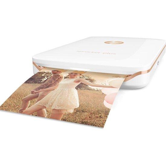 HP Sprocket Plus - Mobiele Fotoprinter - Wit
