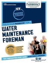Water Maintenance Foreman