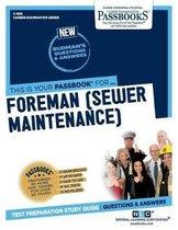 Foreman (Sewer Maintenance)
