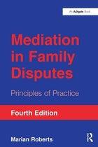 Omslag Mediation in Family Disputes