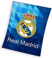 Real Madrid - Fleece - Plaid - 150x200 cm - Blauw