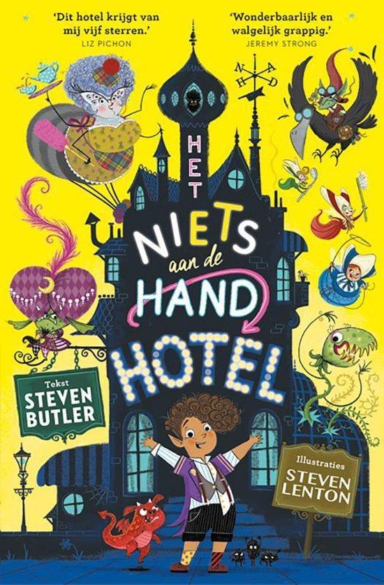 Het niets aan de hand hotel - Het niets aan de hand hotel - Steven Butler   Readingchampions.org.uk