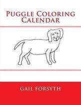 Puggle Coloring Calendar